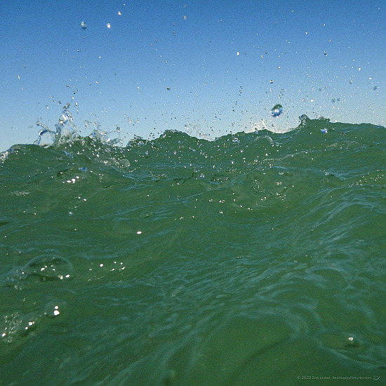 The Tip Of A Wave